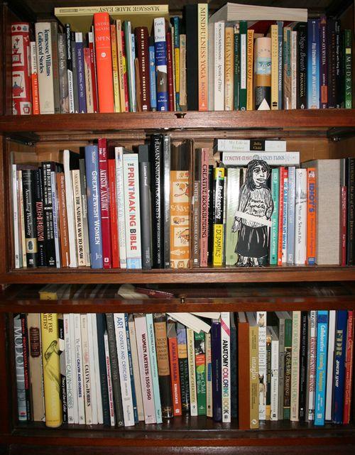 Bedroom bookcaseLO